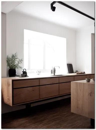 80 Setup Minimalist Kitchen Cabinets The Urban Interior Modern Kitchen Design Kitchen Remodel Design House Interior
