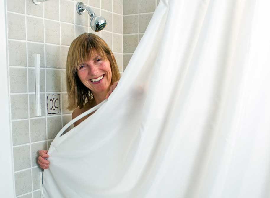Shower Curtain Sealer Shower Remodel Shower Remodel Cost