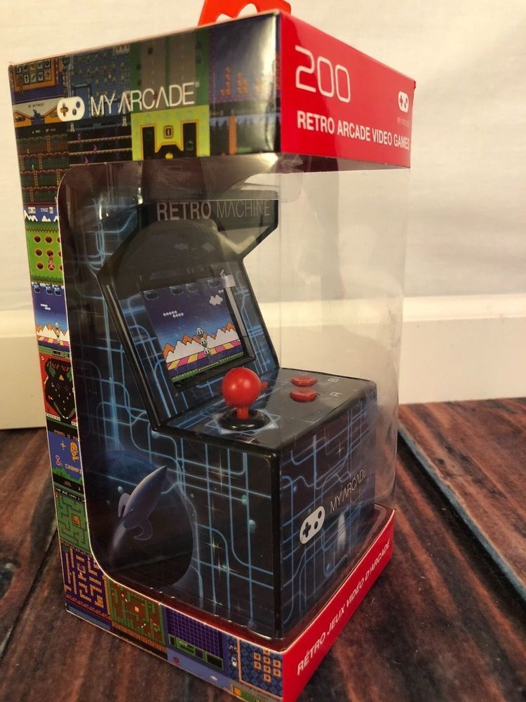 My Arcade Retro Machine - With 200 Retro Games - Portable Mini