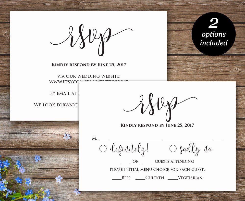 Wedding Rsvp Postcard Templates Luxury Rsvp Printable Card Wedding Rsvp Cards Wedding Wedding Response Cards Rsvp Wedding Cards Wedding Invitation Rsvp Wording Wedding response card template free