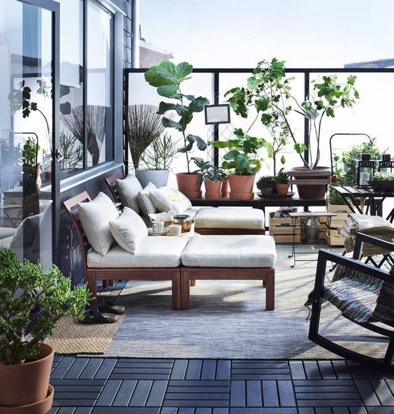 ikea applaro balcony ideas - Recherche Google Balcony Design - sonnenterrasse gestalten ideen