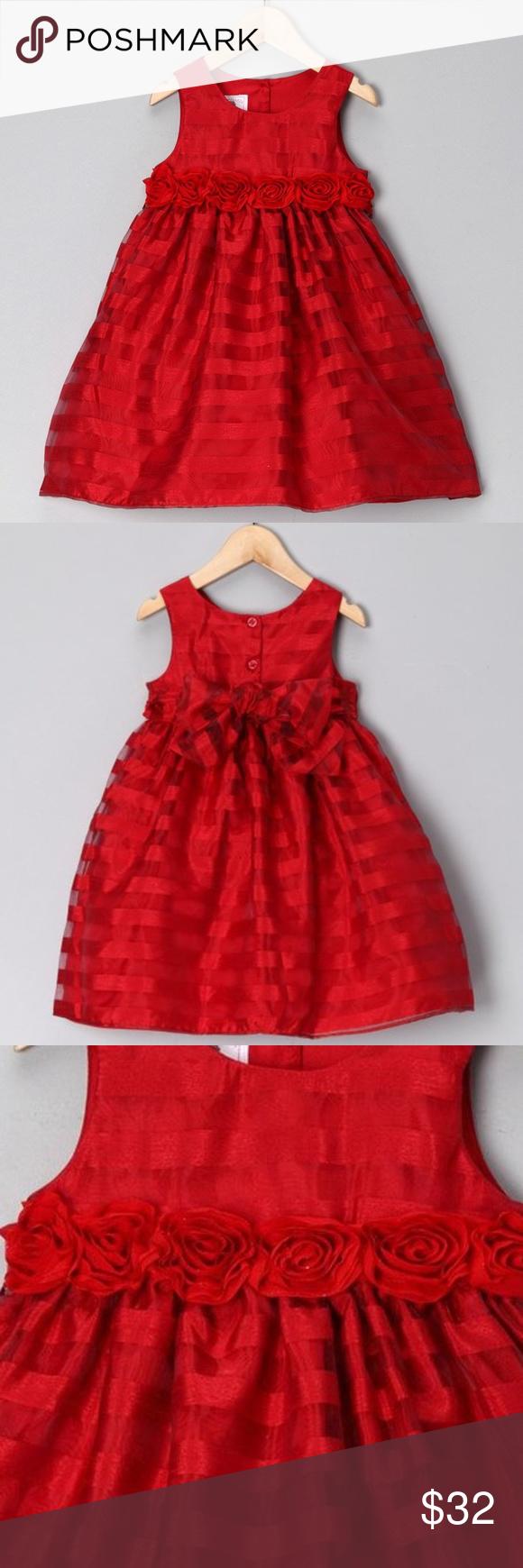 NWT Gymboree Pretty Poppy Pink Floral Dress Girl 18//24M toddler