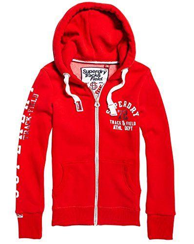 2019 original officiel vente chaude authentique Superdry G20145xpf7 Sweatshit à Capuche Sportswear Femme ...