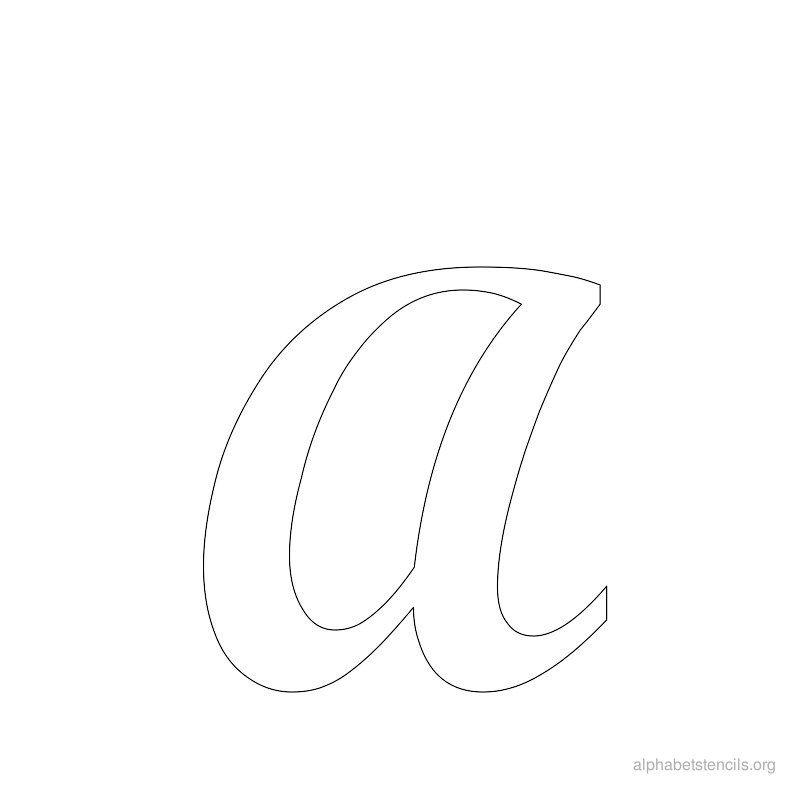 Alphabet Stencils Org Alphabet Stencils Letter Stencils Cursive Letters