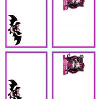 Printable monster high draculaura and count fabulous name tags printable monster high draculaura and count fabulous name tags freeprintable bookmarktalkfo Choice Image