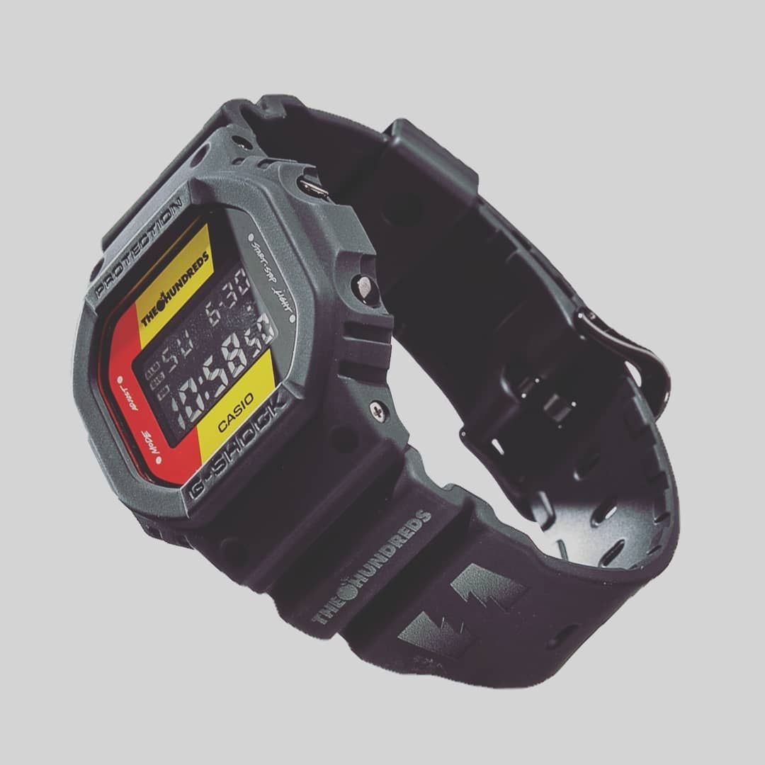 The Hundreds X G Shock Dw 5600hdr At Complex Con G Central G