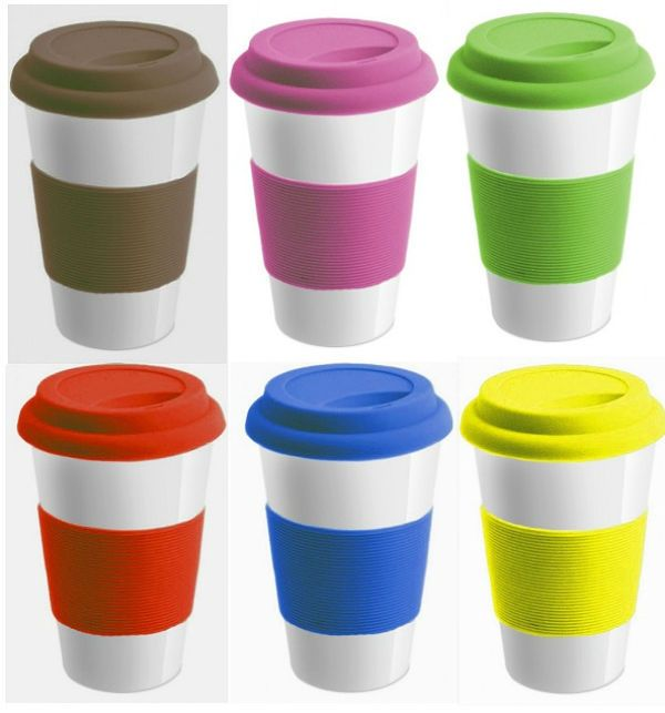 1e8f335b023 Hot Sale Bpa Free Wholesale Elastic Grip Silicone Coffee Cup Cover Lid