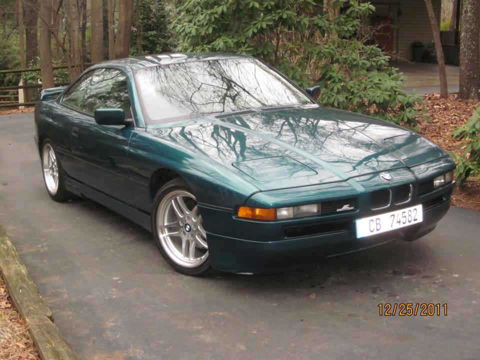 BMW 92 Laguna Green 850i With An AC Schnitzer Body Kit