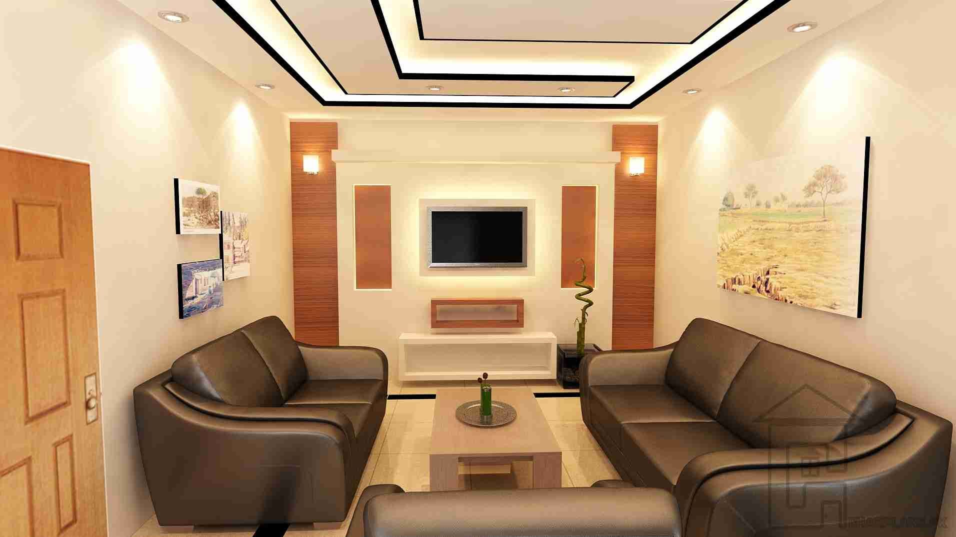 Drawing room decoration with a beautiful design settings This is the perfect dcor for the