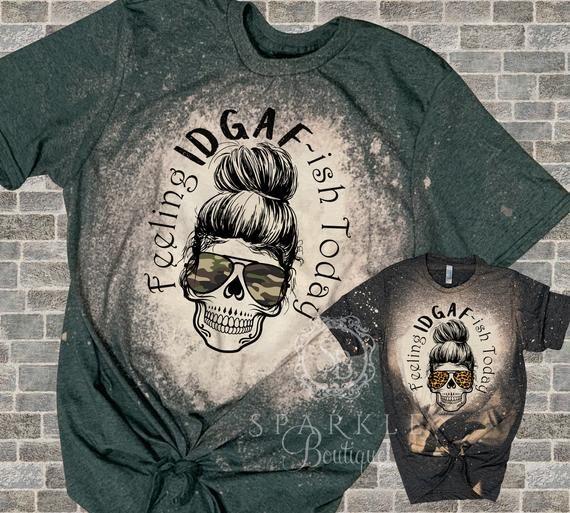 Sarcastic Shirt - Social Distancing Shirt - Skull