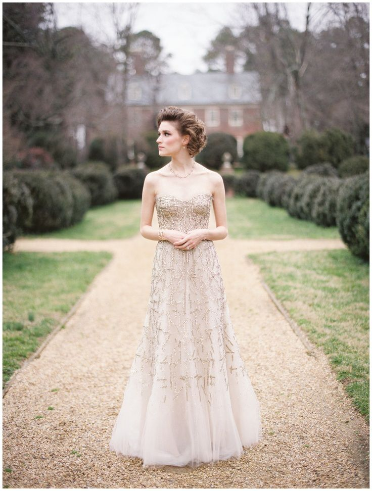 Away from the Traditional White: Bridal Dresses in Colour