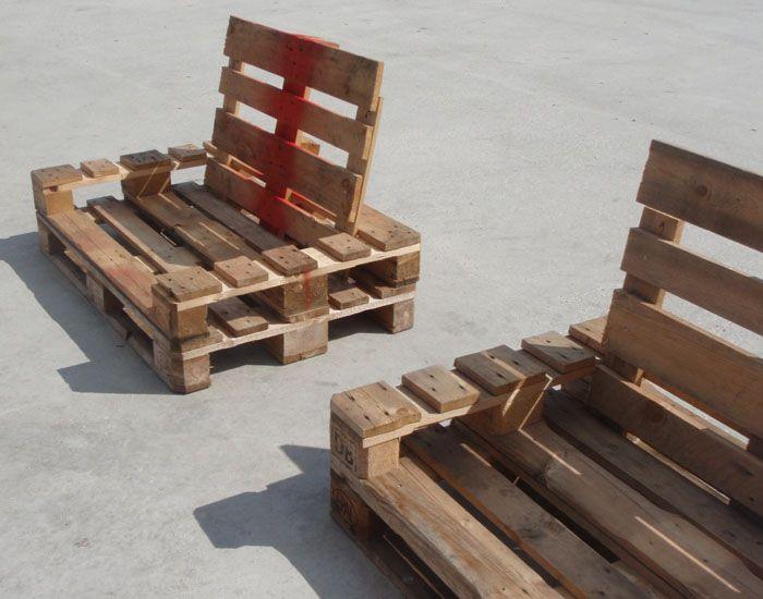 Sillones para la playa palets en 2019 muebles hechos - Sillones hechos de palets ...