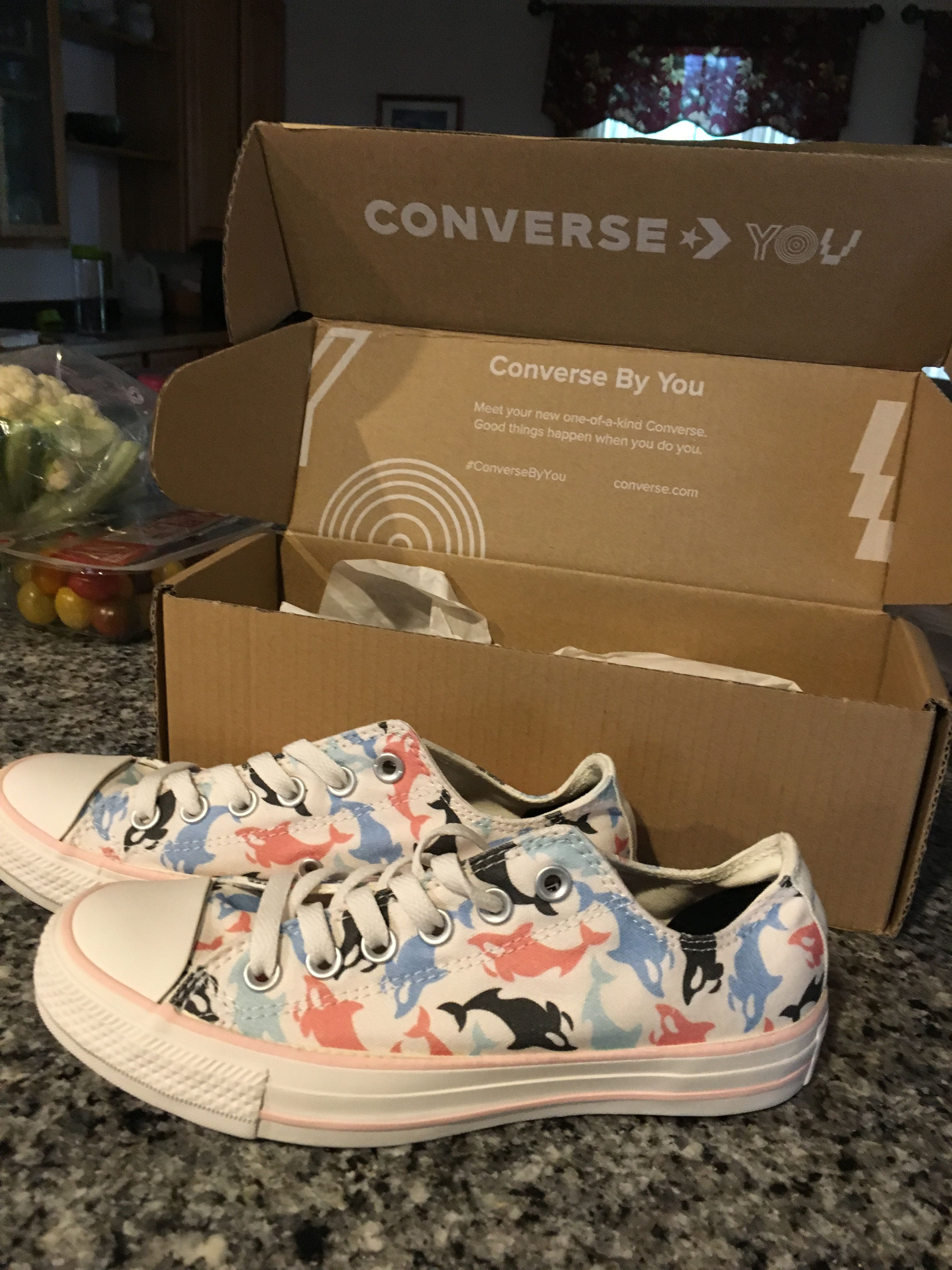My Millie By You Converse came in!!!!!!! Thank you Converse
