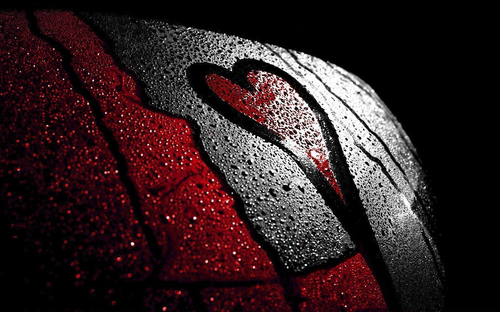 Love Red And Black Wallpaper Love Wallpaper Heart Wallpaper