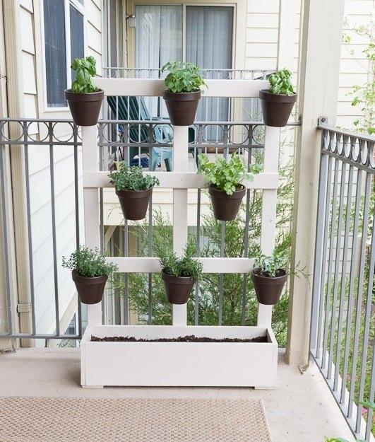 My DIY Vertical Balcony Garden In 2020
