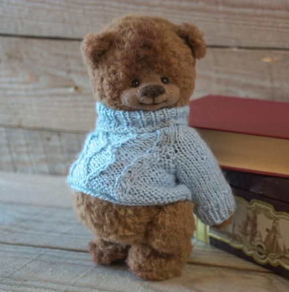 Teddy Bear toy Crochet amigurumi animals toy woollen toys knitting toy 7 inches handmade  interior toy amigurumi toys knitting  Mother's day #crochetteddybearpattern