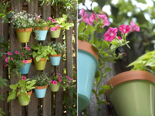 Apt Therapy: Hanging Pots