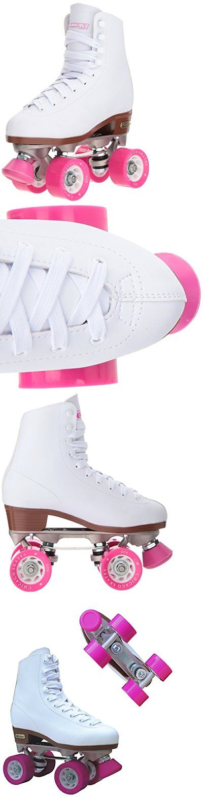 Women 16261: Size 6 Indoor Outdoor High Top Adjustable Rink Quad Roller Skate Pair For Women -> BUY IT NOW ONLY: $58.27 on eBay!