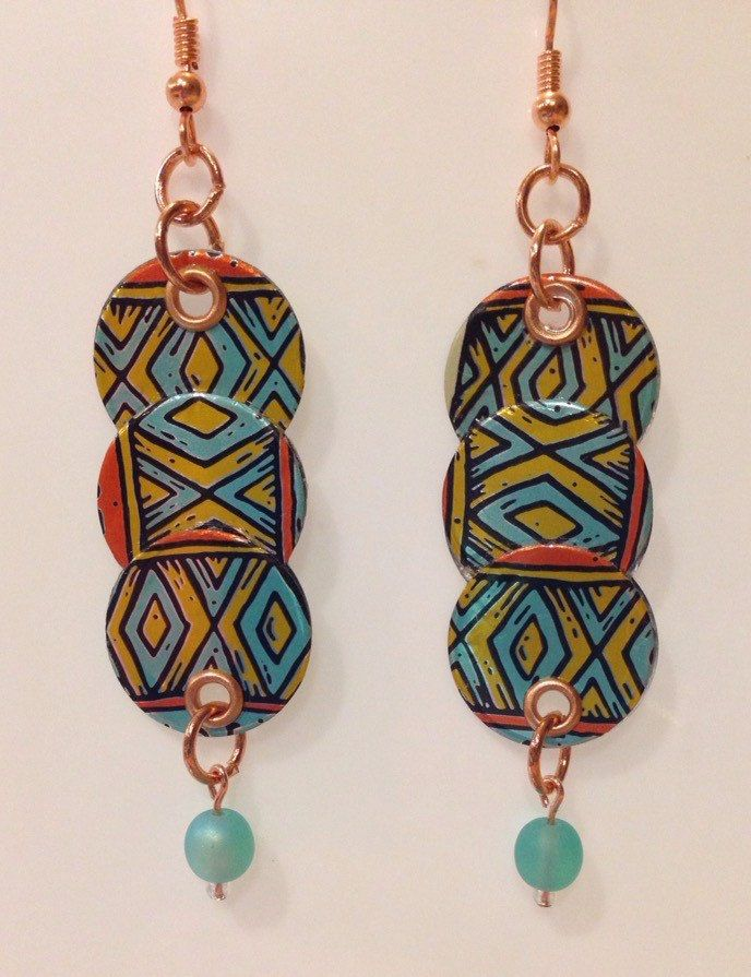 A personal favorite from my Etsy shop https://www.etsy.com/listing/270720396/up-cycled-el-sully-beer-can-earrings