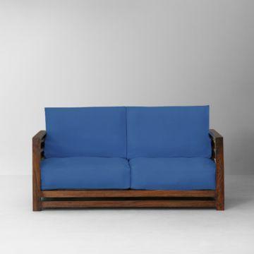 Elmwood Matrix Sofa Set Honey And Blue Sofa Set Online Sofa Sofa Set