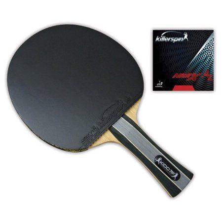 Killerspin Table Tennis Straight Paddle Kido 7P, ST RTG Ping Pong Racket