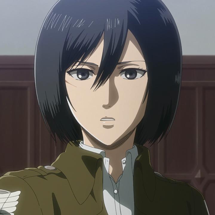 Mikasa Ackermann (Anime) in 2020 (With images) Mikasa