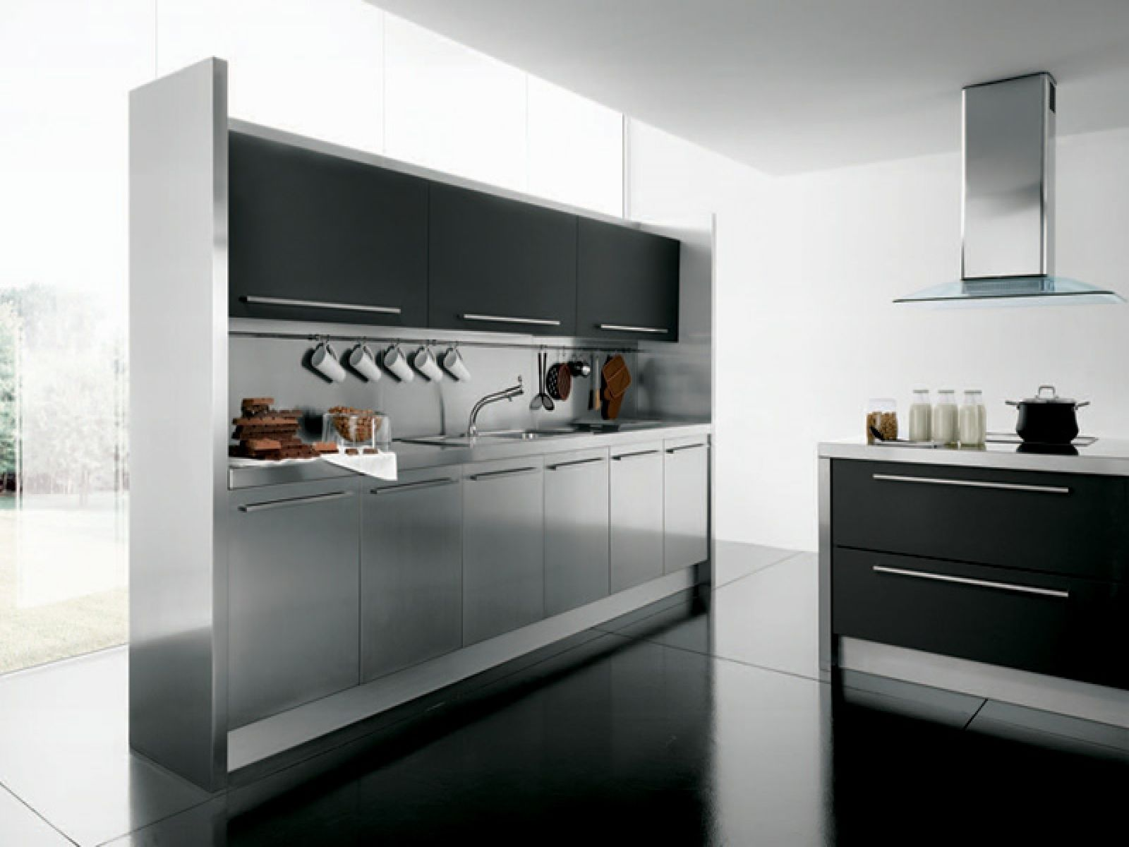 Stainless steel kitchen tables as the best furniturechoice for