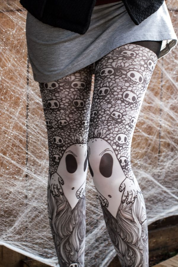 Pantyhose spirit ghost control