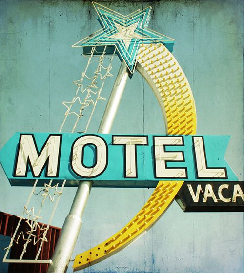 enseigne lumineuse star motel vintage neon sign typo rocket lulu neon pinterest enseignes. Black Bedroom Furniture Sets. Home Design Ideas