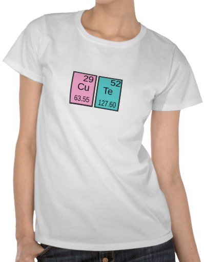 Zazzle table periodic table cute t shirt from zazzle zazzle table periodic table cute t shirt from urtaz Gallery