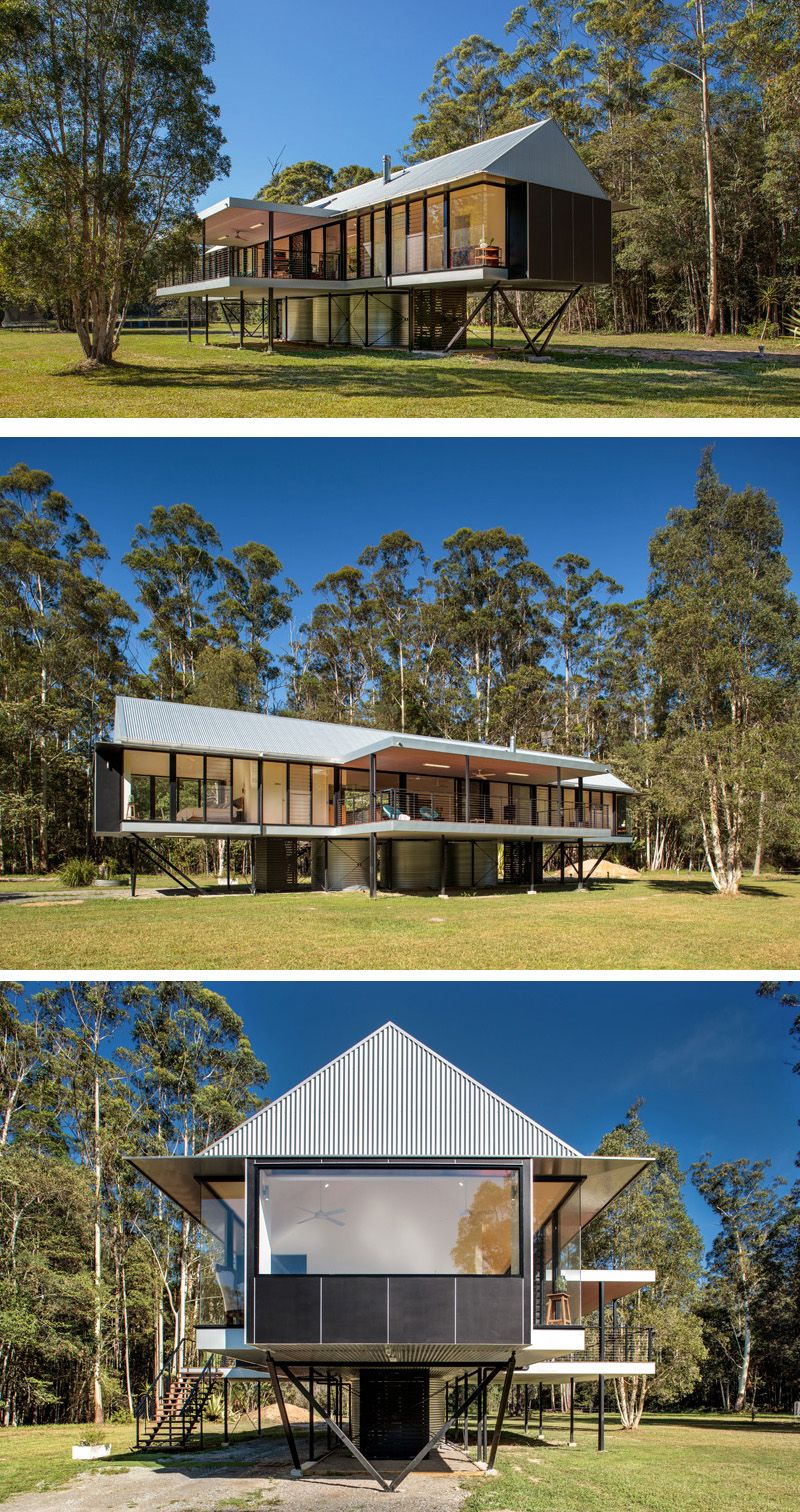 Tiny Home Designs: Robinson Architects Have Designed The Platypus Bend House