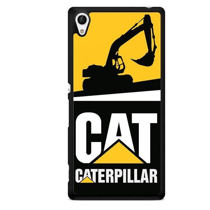 Caterpillar Excavator Tatum 2470 Sony Phonecase Cover For Xperia Z1 Xperia Z2 Xperia Z3 Xperia Z4 Xpe Equipo Pesado Parches Bordados Caterpillar Maquinaria