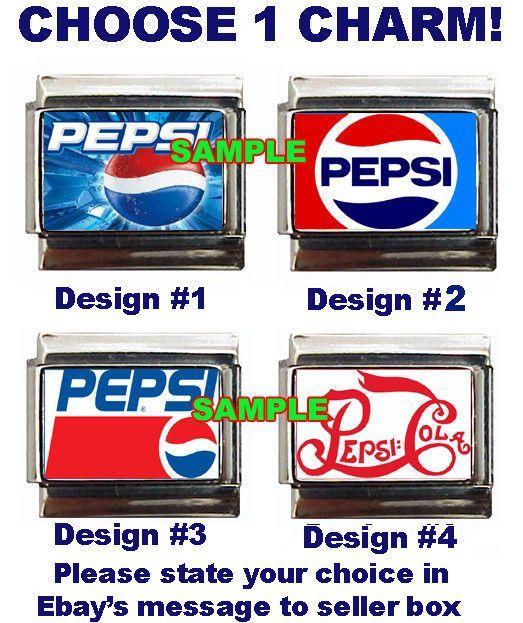 Details about Pepsi Custom Italian Charm soda Cola in 2019