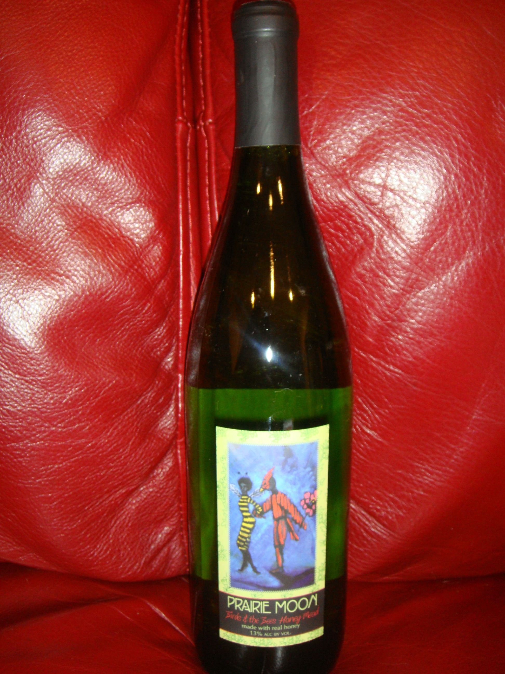 Birds The Bees Honey Mead By Prairie Moon Winery Wine Bottle Winery Distillery