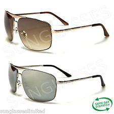 New Aviator Vintage Retro X Loop Designer Mens Ladies Unisex Mirrored Sunglasses