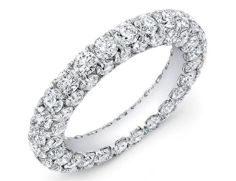 Amden Jewelry all around diamond eternity band wedding