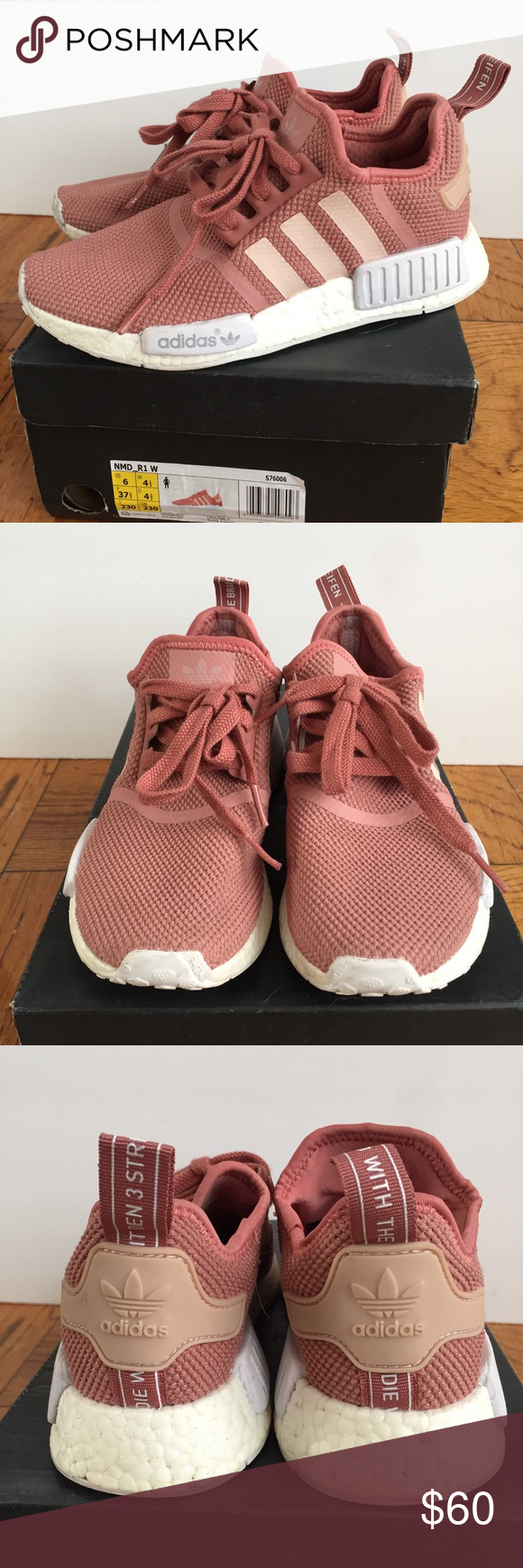 Adidas Boost NMD R1 Pink mi Posh picks Pinterest adidas Boost