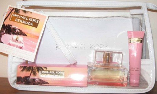 Michael Kors Island Bermuda Getaway Essentials Eau de Parfum Gift Set - http://www.womenperfume.net/michael-kors-island-bermuda-getaway-essentials-eau-de-parfum-gift-set/