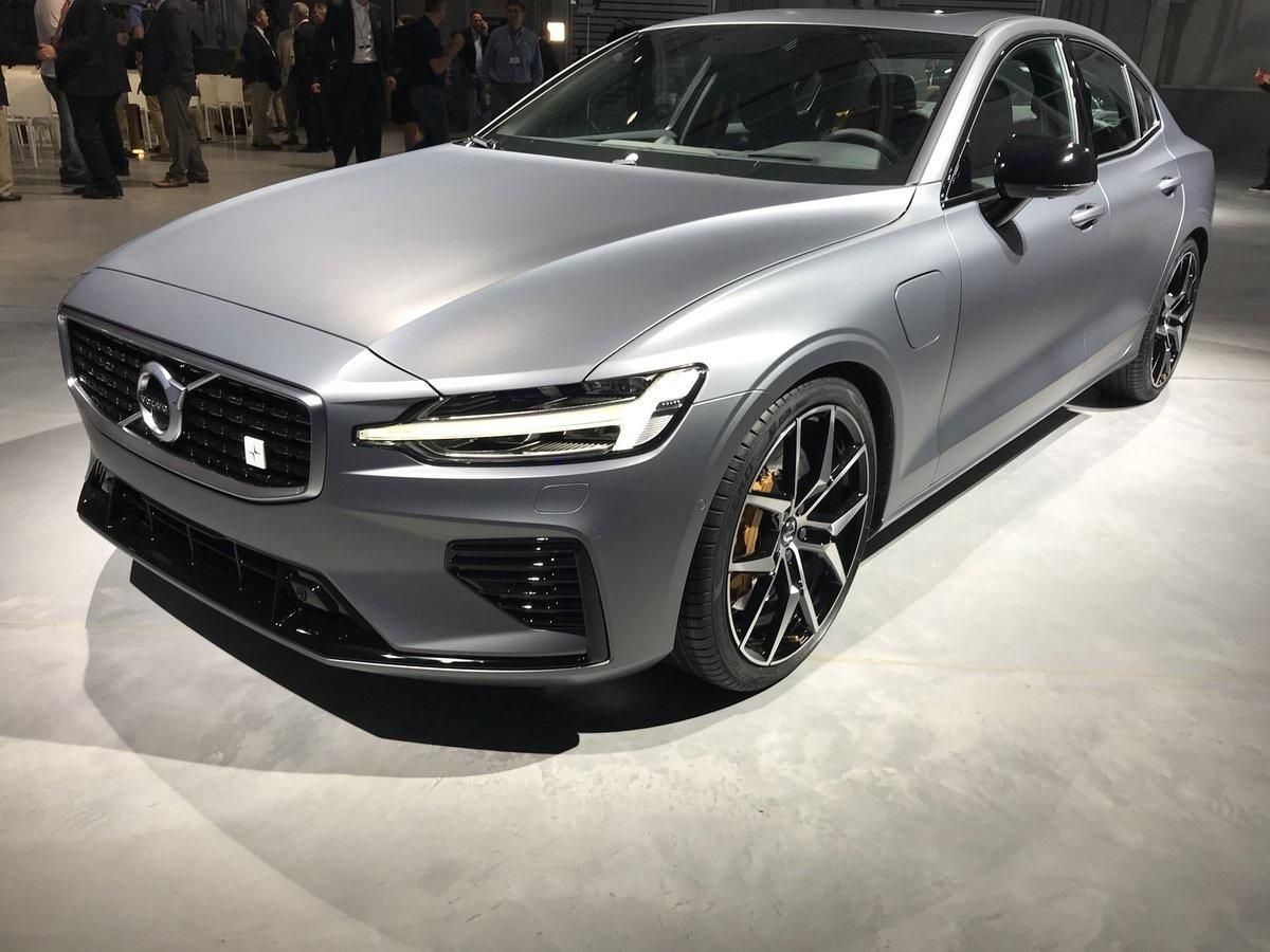 2019 Volvo S60 T8 Polestar Unveiled Today As Volvo Officially Opened