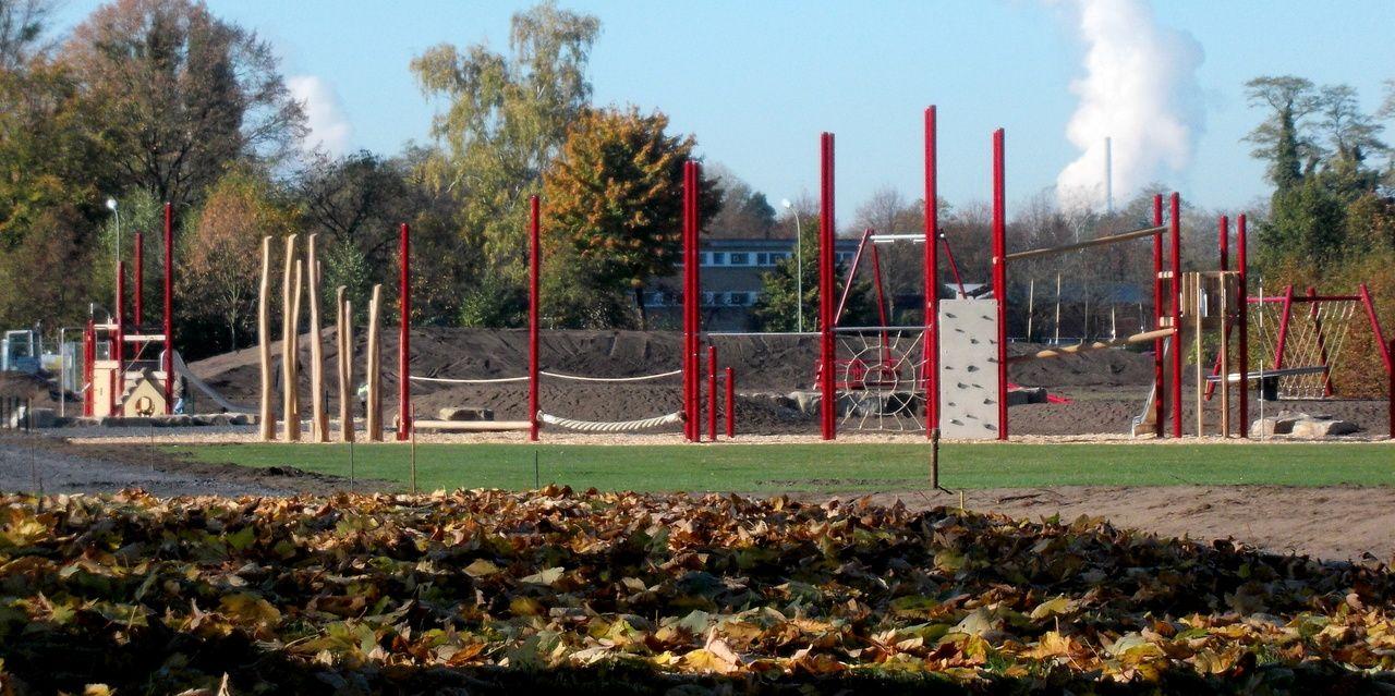 hamm westfalen:bauprojekt freizeitpark hamm-osten.foto:fausto ciotti