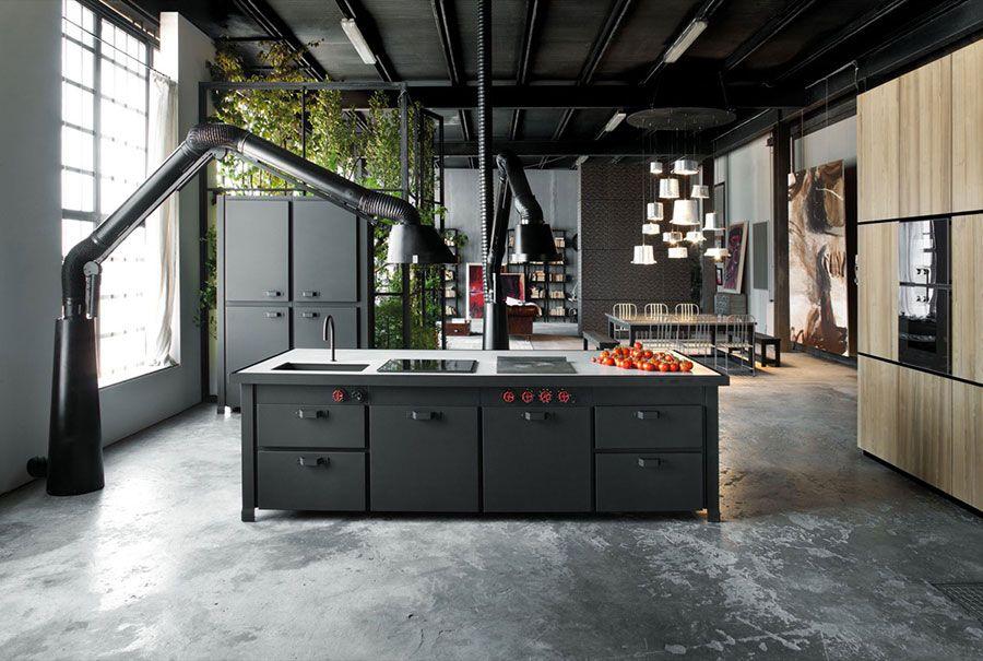 Cucine in Stile Industriale: 25 Modelli di Design a cui Ispirarsi ...
