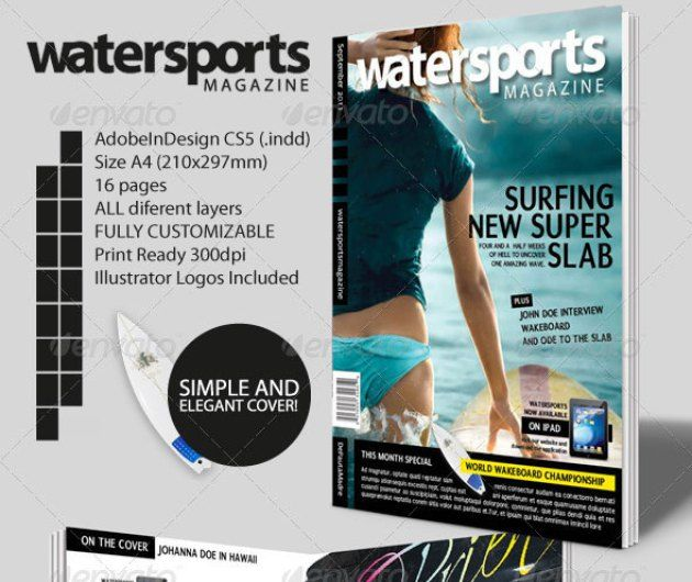 20 Best Magazine Templates Psd Indesign: 95+ Best Magazine Templates