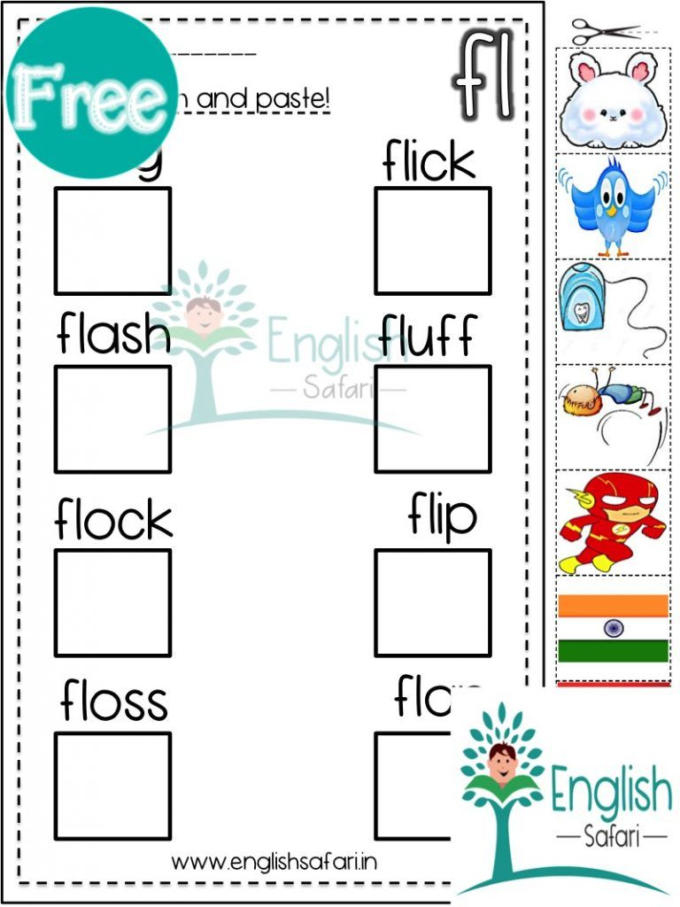 Pin On Consonant Blends Worksheets [ 1024 x 768 Pixel ]