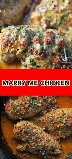 MARRY ME CHICKEN | Jos #marrymechicken