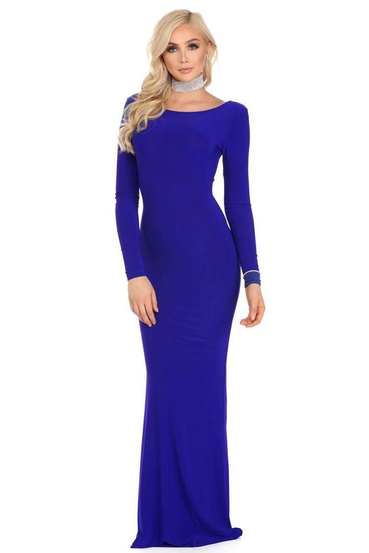 Chanelle Royal Formal Dress | WindsorCloud | Formal dresses ...