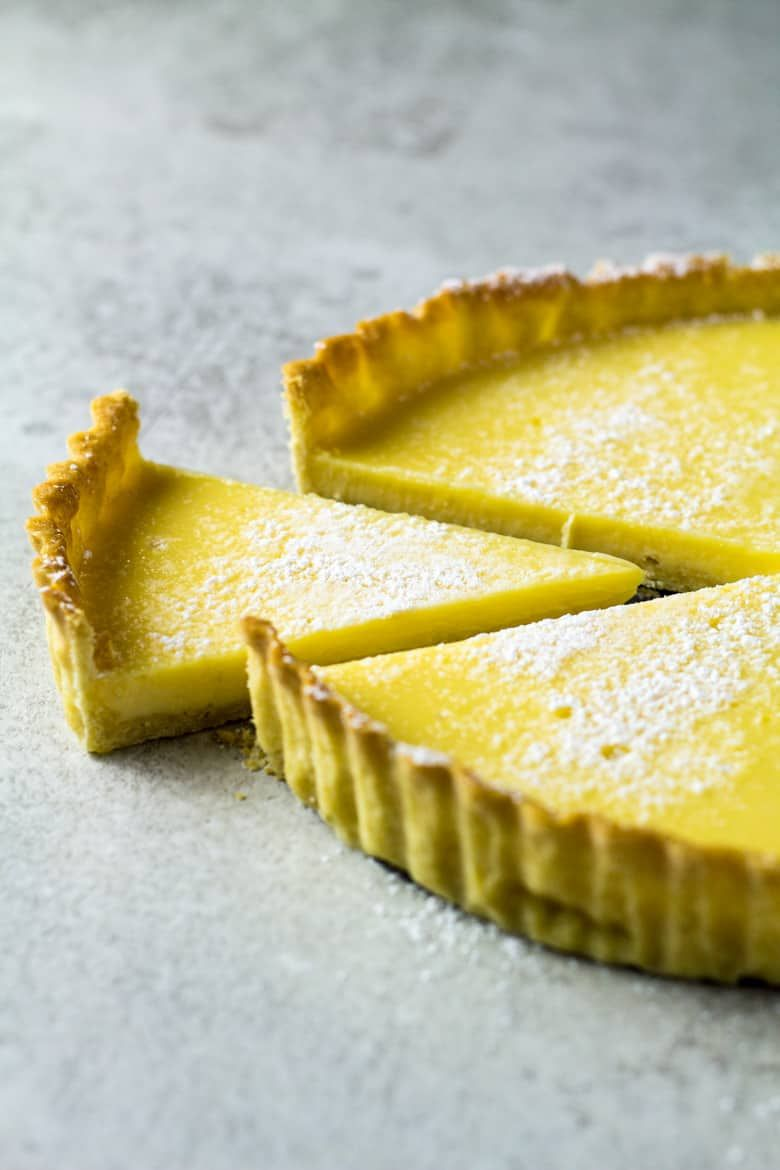 Easy Lemon Tart A Homemade Buttery Flaky Crust Filled With A