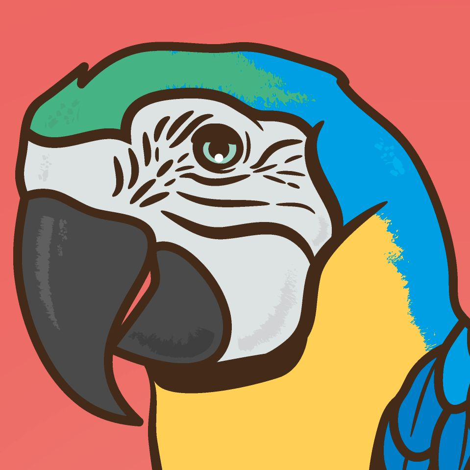 Charmant Blaue Macaw Malvorlagen Bilder - Beispielzusammenfassung ...