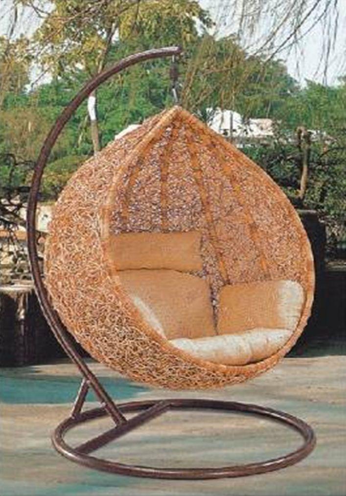 love it! Hanging chair indoor, Swing chair outdoor