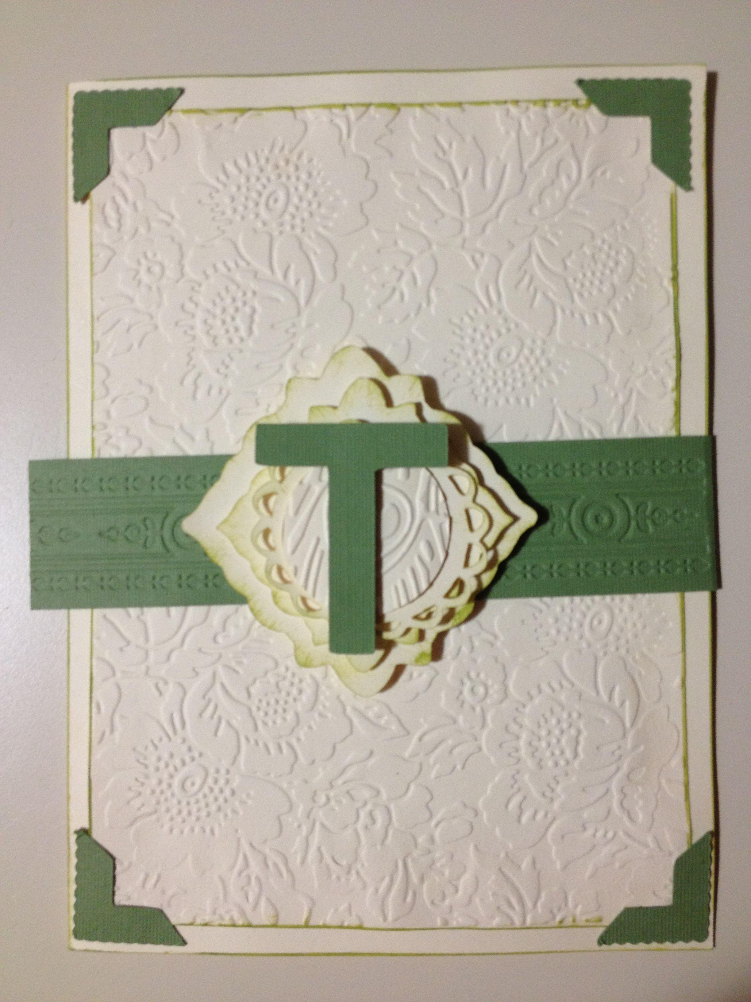 Wedding invitation made on my cricut machine ) Diy