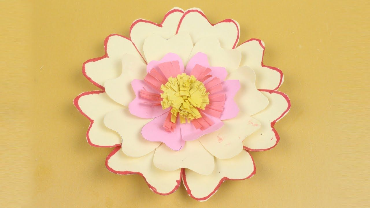 Easy Origami Flower How To Make Nice Origami Flower By Diy Paper